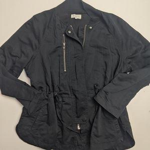 Lou & Grey Black Cargo Jacket Medium
